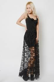 black lace dress witchy black lace dress vera s eyecandy
