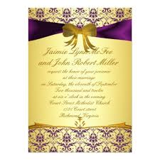 purple and gold wedding invitations 18 best purple and gold wedding invitations images on