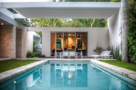 Modern Awnings Miami Awnings For Decks Pool Modern With Grass Sections Solar