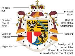 Family Crest Flags Flag Coat Of Arms Symbol U2013 Fürstentum Liechtenstein