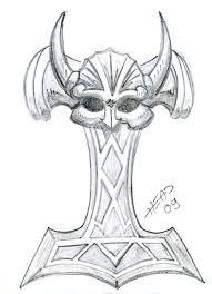 mjolnir tattoo wip by head84 on deviantart