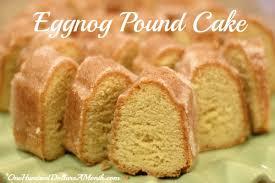 christmas dessert recipes eggnog pound cake one hundred