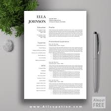 Free Creative Resume Template Psd Free Resume Templates Template Minimal Psd Design Throughout
