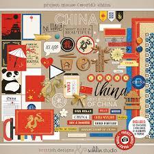 china designs project mouse world china sahlin studio digital scrapbooking