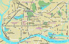 Guangzhou China Map by Yangzhou China Pictures Citiestips Com