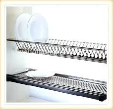 plate rack cabinet insert dish rack cabinet dish drying closet from below via dish rack