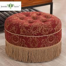 Round Ottoman Online Get Cheap Round Fabric Ottoman Aliexpress Com Alibaba Group