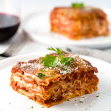 cuisine lasagne lasagna with ground beef and pork sausage gavin