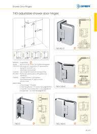 Stall Shower Door by Glass Shower Door Hinge Image Collections Glass Door Interior
