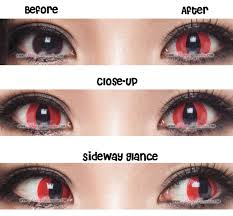 halloween contacts princess pinky cosplay red cat pinkyparadise
