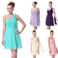 ever pretty padded one shoulder flower rhinestones evening dress