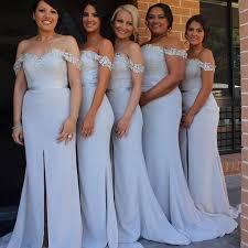 bridesmaid dresses 2015 modest 2015 mermaid lace bridesmaid dresses shoulder satin