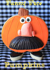 munchkin munchies funny face pumpkin cookies