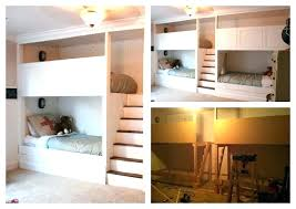 Built In Bunk Bed Built In Bunk Bed Plans Bunk Bed Inspiration Custom Made Bunk Bed