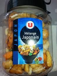 cuisine japonaise calories combien de calories dans mélange japonais u combien de calories