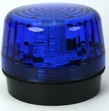 blue led strobe light sl 1301 baq