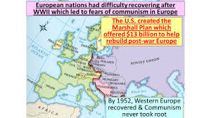 Post Ww2 Map World War Ii Increased Tensions Between The Usa And Ussr Stalin
