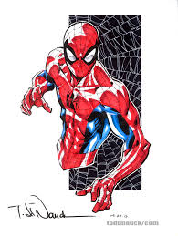 spider man the art of todd nauck