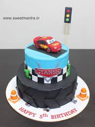 lightning mcqueen cake disney pixar cars lightning mcqueen theme customized designer 2
