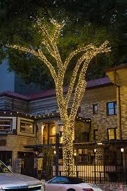 Decorative Trees With Lights Permanent Decorative Tree Wraps