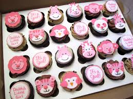 zoo animal baby shower cupcakes mindy bortz flickr
