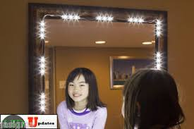 makeup mirror with led lights mirror led light for cosmetic makeup vanity mirror lighted white