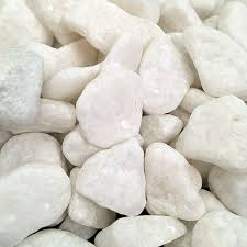 1kg white decorative stones for vases natural pebbles craft