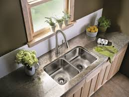 Moen Kitchen Faucet Brushed Nickel Sink U0026 Faucet Brushed Nickel Faucet Kitchen Brilliant Kitchen
