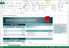 Best Free Excel Templates Best Free Budget Templates For Excel