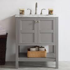 Single Vanity For Bathroom by Beachcrest Home Caldwell 30