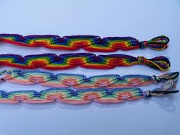 friendship bracelet rainbow images Rainbow wave friendship bracelet arts and farts and crafts JPG