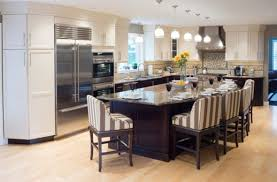 Kitchen Floor Plans With Island Delectable 20 L Shaped Kitchen Islands With Seating Inspiration