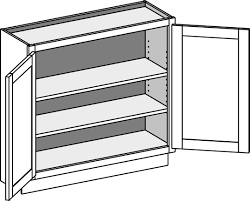 what is the depth of a base cabinet shallow base cabinet w doors bwd csbfd