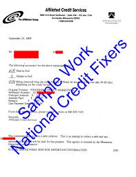 Letter Of Credit In Australia affiliated credit services deletion letter