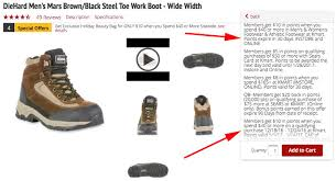 womens boots kmart diehard s steel toe work boots only 10 29 at kmart the