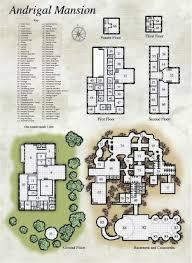 rpg floor plans andrigal mansion deck floor plans pinterest rpg fantasy map