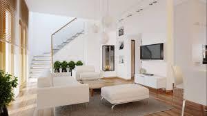 Living Room Tv Set Modern Living Room With A Balcony And Tv Set Interior Design Ideas