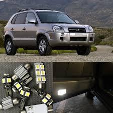 hyundai tucson kit shop 12pcs white canbus car led light bulbs interior