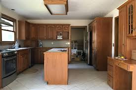 painting cabinets with chalk paint pros cons a beautiful mess first i thought i should show you what our kitchen looked like when we first got the keys to the house we completely removed all of the cabinetry on the