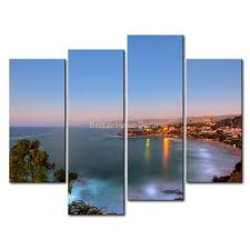Prints For Home Decor 3 Piece Wall Art Painting Laguna Beach California Print On Canvas