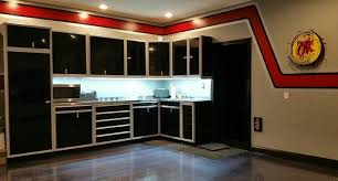 kitchen cabinets in garage gallery of garage shop aluminum cabinets moduline part 3