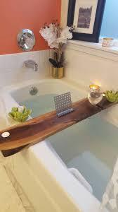 Bathtub Wine 34 Inch Walnut Hardwood Bathtub Tray And Caddy Metal Stand And