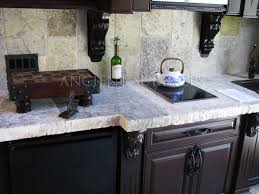 backsplash kitchen countertop thickness our one of a kind