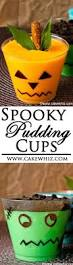 these easy spooky puddings cups are the perfect halloween treat