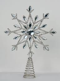 silver metal christmas tree christmas lights decoration