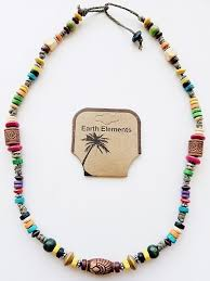 necklace beaded images Hawaii beach earth elements necklace spiritual beaded surfer jpg