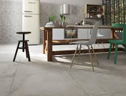 kitchen floor concrete floors aluminium bar stools gray kitchen