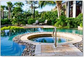 Above Ground Pool Landscaping Ideas Backyard Above Ground Pool Ideas