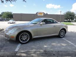 used lexus sc430 for sale by owner 2002 lexus sc430 convertible florida car nav only 105k clear title