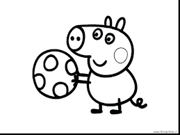 free peppa pig coloring pages print drawings pictures